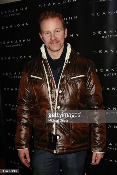 Director Morgan Spurlock attends the House of Hype Hospitality Lounge Day 2 on January 23 2010 in Park City Utah