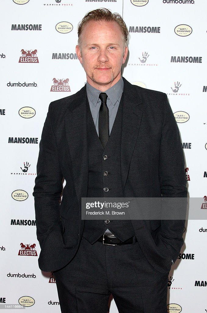Director Morgan Spurlock attends the premiere of Morgan Spurlock's 'Mansome' at the ArcLight Cinemas on May 9, 2012 in Hollywood, California.
