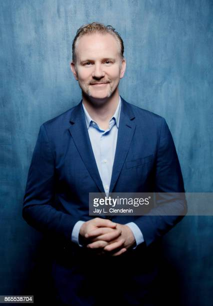 Director Morgan Spurlock from the film 'Super Size Me 2 Holy Chicken' poses for a portrait at the 2017 Toronto International Film Festival for Los...