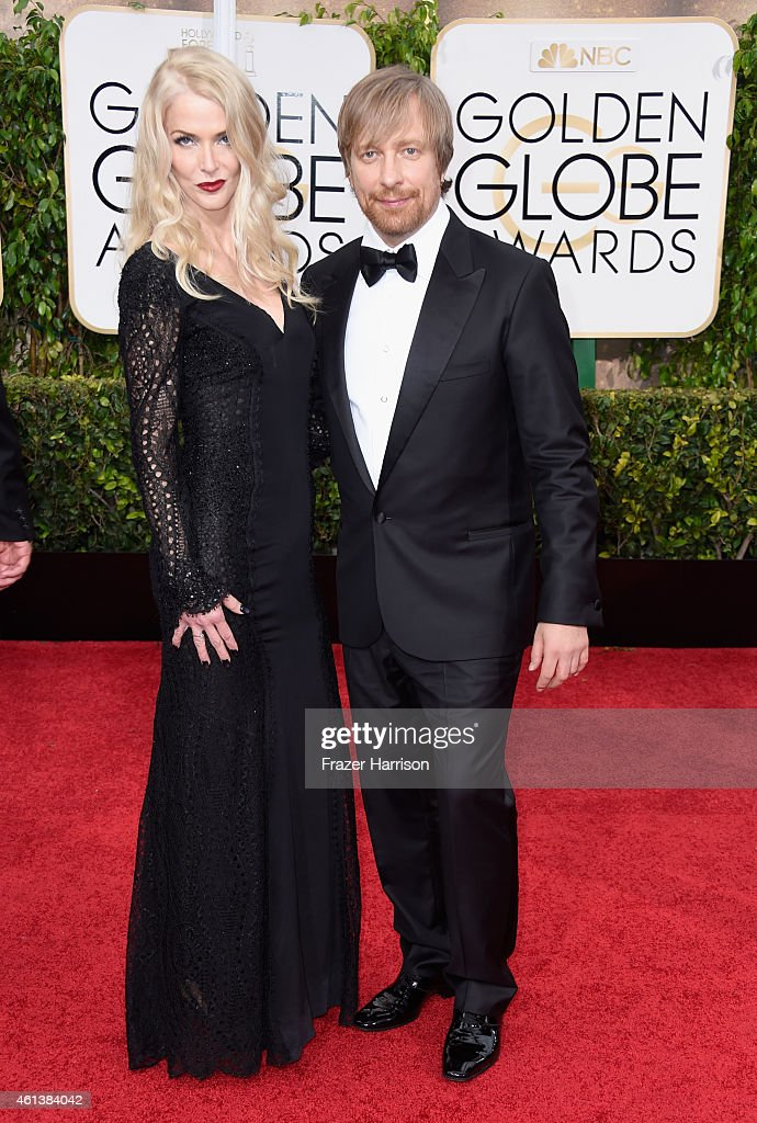 Director Morten Tyldum (R) and Janne Tyldum attend the 72nd Annual Golden Globe Awards at The Beverly Hilton Hotel on January 11, 2015 in Beverly Hills, California.
