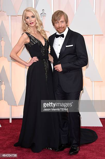 Director Morten Tyldum and Janne Tyldum attend the 87th Annual Academy Awards at Hollywood Highland Center on February 22 2015 in Hollywood California