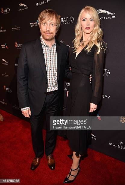Director Morten Tyldum and Janne Tyldum attend the BAFTA Los Angeles Tea Party at The Four Seasons Hotel Los Angeles At Beverly Hills on January 10...