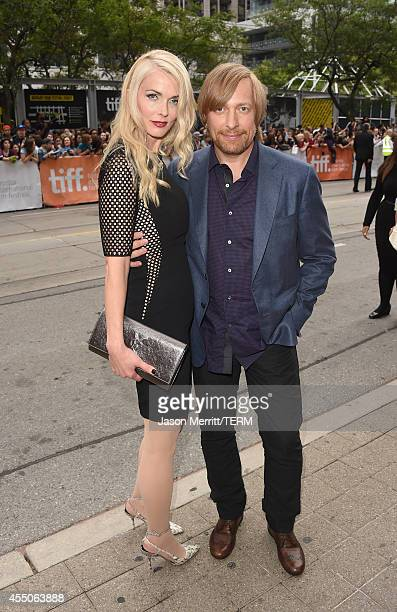 Director Morten Tyldum and Janne Tyldum attend The Imitation Game Premiere during the 2014 Toronto International Film Festival at Princess of Wales...