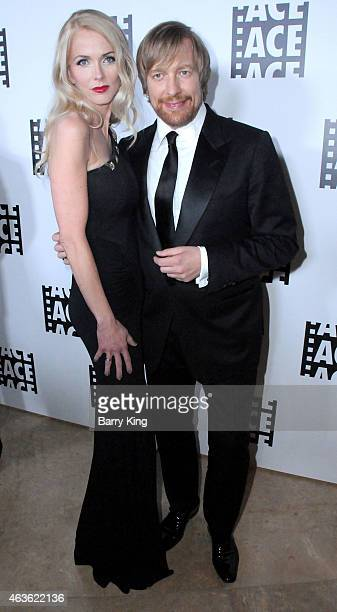 Director Morten Tyldum and wife Janne Tyldum attend the 65th annual ACE Eddie Awards at The Beverly Hilton Hotel on January 30 2015 in Beverly Hills...