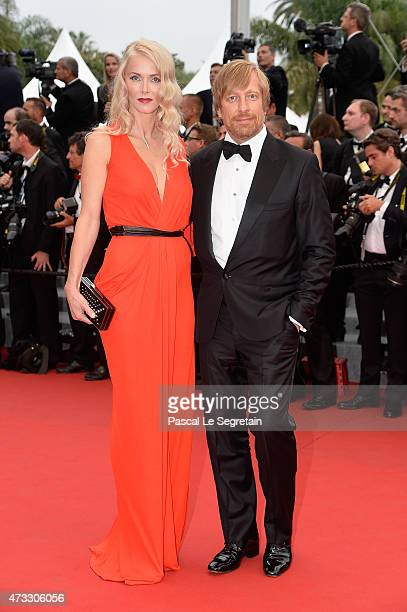 Director Morten Tyldum and wife Janne Tyldum attend the Premiere of Mad Max Fury Road during the 68th annual Cannes Film Festival on May 14 2015 in...