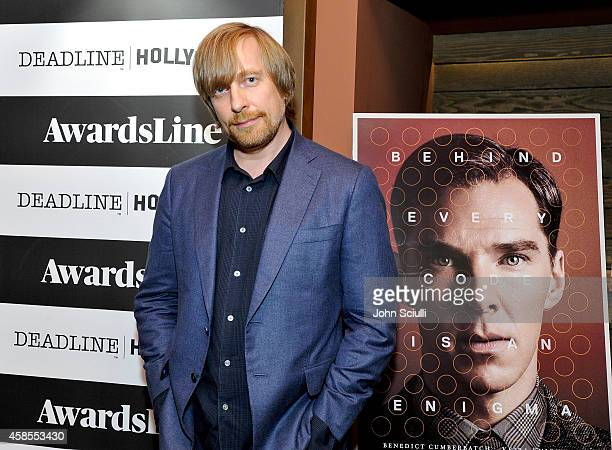 Director Morten Tyldum attends Awardsline screening of Weinstein Co's The Imitation Game at Sundance Sunset 5 Theater on November 6 2014 in Los...