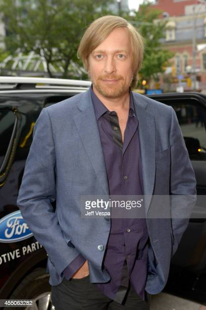 Director Morten Tyldum attends the The Imitation Game premiere during the 2014 Toronto International Film Festival at Princess of Wales Theatre on...