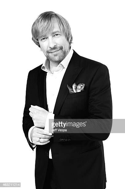 Director Morten Tyldum poses for a portraits at the 87th Academy Awards Nominee Luncheon at the Beverly Hilton Hotel on February 2 2015 in Beverly...