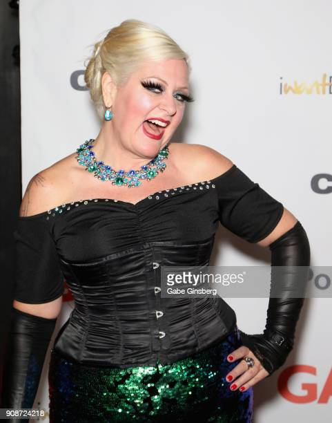 Director mr Pam attends the 2018 GayVN Awards show at The Joint inside the Hard Rock Hotel Casino on January 21 2018 in Las Vegas Nevada