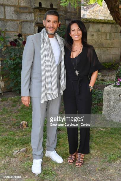 Director Nabil Ayouch and Scriptwriter Maryam Touzani attends the 14th Angouleme French-Speaking Film Festival - Day Two on August 25, 2021 in...