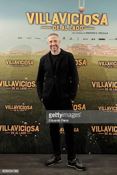 Director Nacho G Velilla attends the 'Villaviciosa de Al Lado' photocall at Palacio de los Duques hotel on November 29 2016 in Madrid Spain
