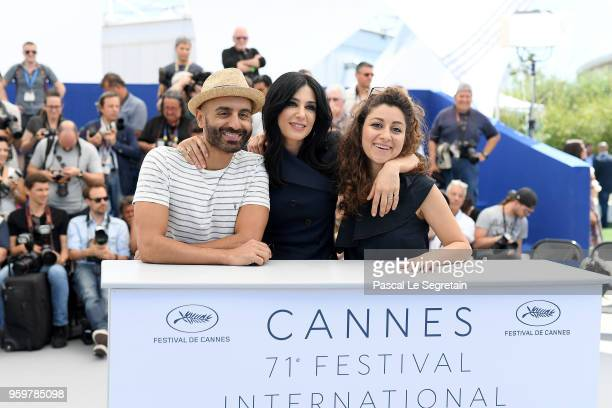 Director Nadine Labaki and guests attend Capharnaum Photocall during the 71st annual Cannes Film Festival at Palais des Festivals on May 18 2018 in...