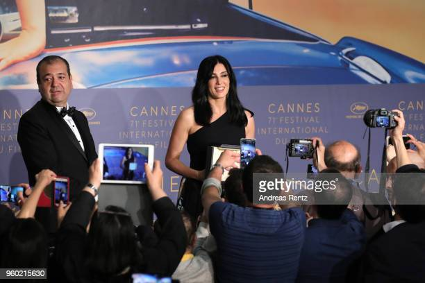 Director Nadine Labaki winner of the Jury Prize award for 'Capharnaum' attends the press conference for the Palme D'Or Winner during the 71st annual...