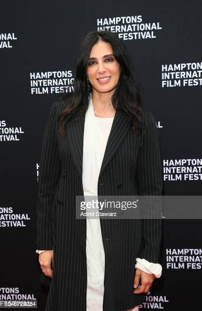 Director Nadine Labiki attends the photo call for Capernaum at UA East Hampton Cinema 6 during HIFF 2018 Day Three on October 6 2018 in East Hampton...