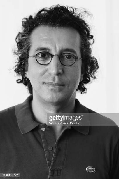 Director Nadir Mokneche poses for a portrait during the 70th Locarno Film Festival on August 3 2017 in Locarno Switzerland