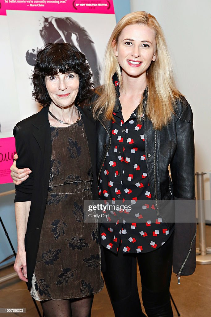 Director Nancy Buirski and actress Megan Ketch attend the 'Afternoon Of A Faun' screening on February 3, 2014 in New York City.