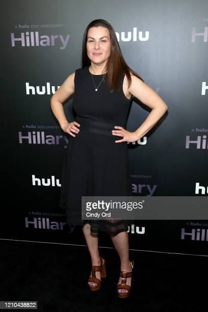 Director Nanette Burstein attends the Hillary New York Premiere at Directors Guild of America Theater on March 04 2020 in New York City