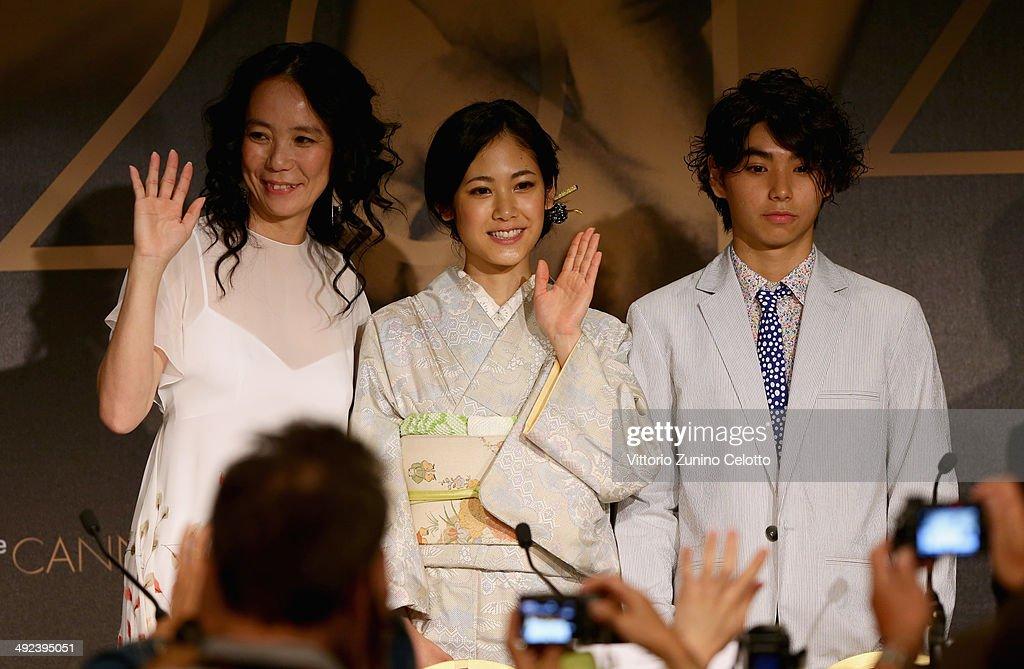 """""""Futatsume No Mado"""" Press Conference - The 67th Annual Cannes Film Festival"""
