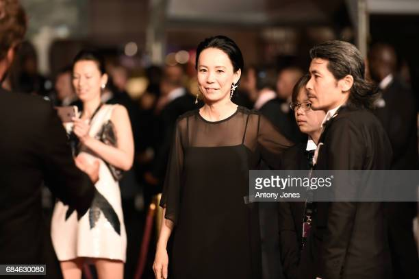 Director Naomi Kawase attends the 'Blade Of The Immortal ' screening during the 70th annual Cannes Film Festival at Palais des Festivals on May 18...