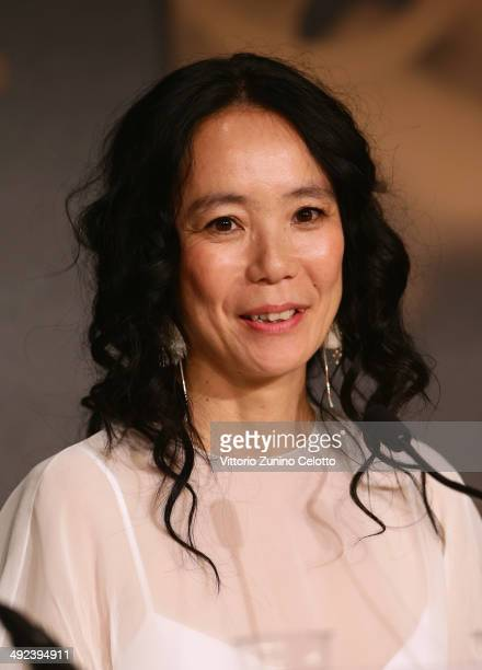 Director Naomi Kawase attends the 'Futatsume No Mado' press conference during the 67th Annual Cannes Film Festival on May 20 2014 in Cannes France
