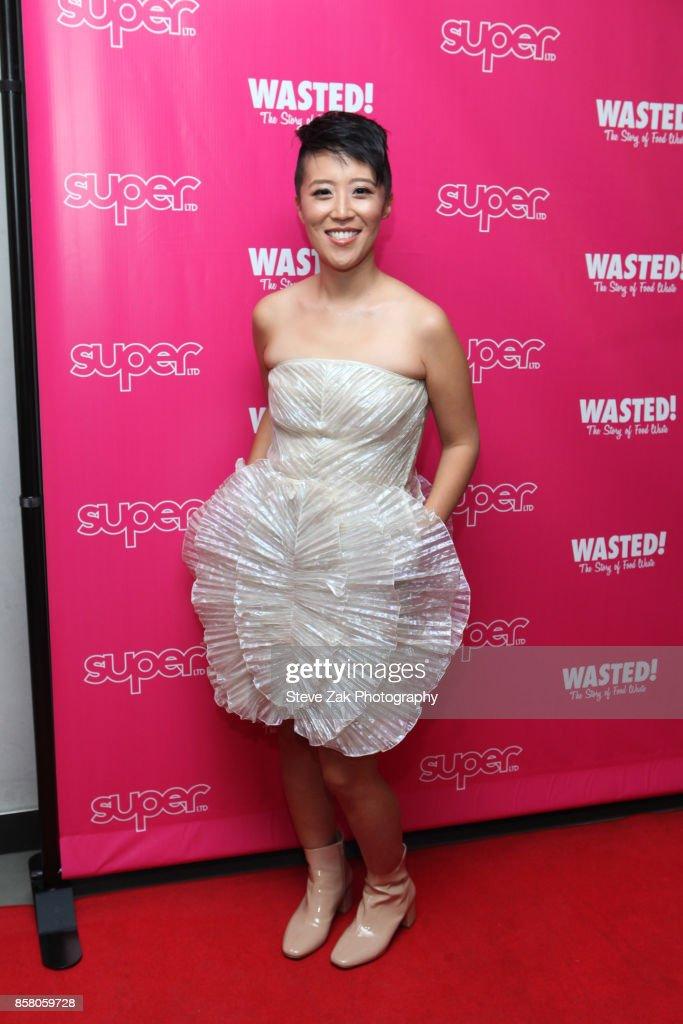 Director Nari Kye attends 'Wasted! The Story Of Food Waste' New York Premiere at Alamo Drafthouse Cinema on October 5, 2017 in the Brooklyn borough of New York City.