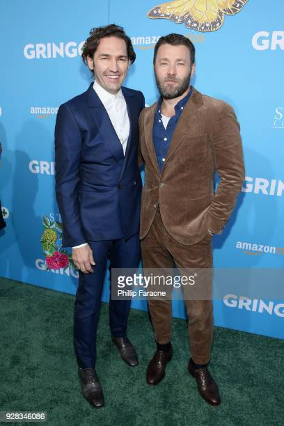 Director Nash Edgerton and actor Joel Edgarton attend the world premiere of 'Gringo' from Amazon Studios and STX Films at Regal LA Live Stadium 14 on...