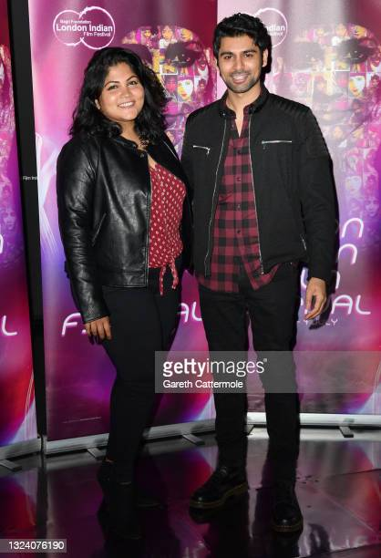 """Director Natalia Shyam attends """"WOMB """" Screening and Opening Gala during London Indian Film Festival 2021 at BFI Southbank on June 17, 2021 in..."""