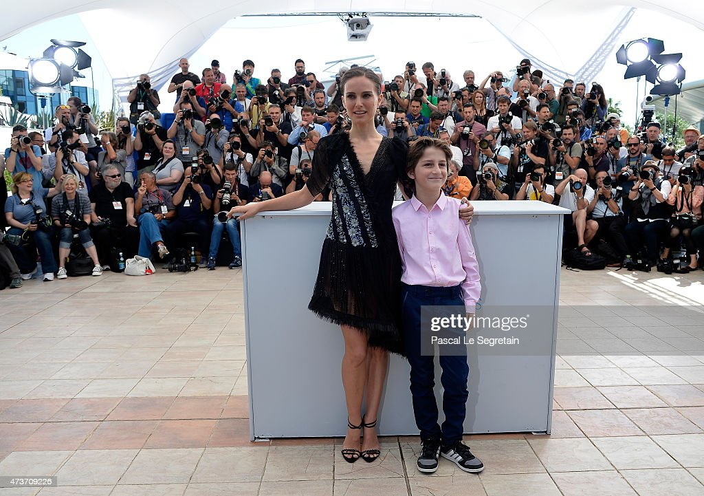 Director Natalie Portman and actor Amir Tessler attend a photocall for 'A Tale Of Love And Darkness' during the 68th annual Cannes Film Festival on May 17, 2015 in Cannes, France.