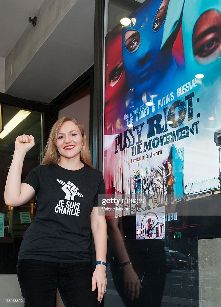 Director Natasha Fissiak attends the Los Angeles Premiere And Screening 'Pussy Riot: The Movement' at Laemmle Music Hall on April 2, 2015 in Beverly Hills, California.