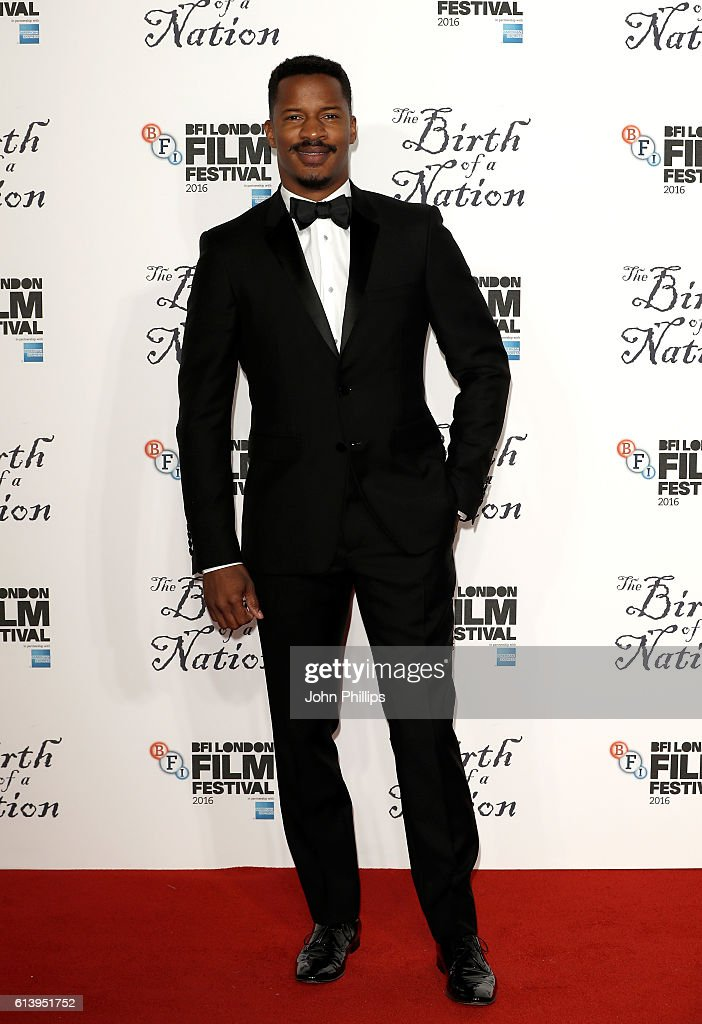 Director Nate Parker attends 'The Birth Of A Nation' International Premiere screening during the 60th BFI London Film Festival at Odeon Leicester Square on October 11, 2016 in London, England.