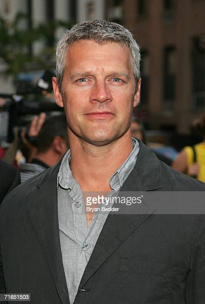 Director Neil Burger attends Yari Film Group's premiere of The Illusionist at Chelsea West Cinemas August 15 2006 in New York City