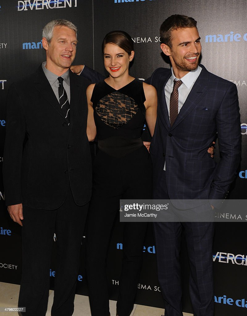 """Marie Claire & The Cinema Society Host A Screening Of Summit Entertainment's """"Divergent"""" - Inside Arrivals"""
