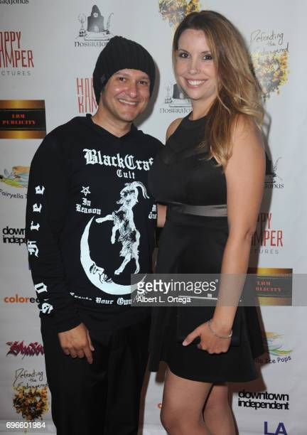 Director Neil D'Monte and actress Kristen Maddox arrive for the Premiere Of 'Front Men' And 'Like Them' held at The Downtown Independent on June 15...