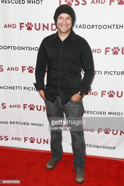 Director Neil D'Monte attends the Premiere Of Mancinetti's 'Loss And Found' at The Downtown Independent on October 9 2017 in Los Angeles California