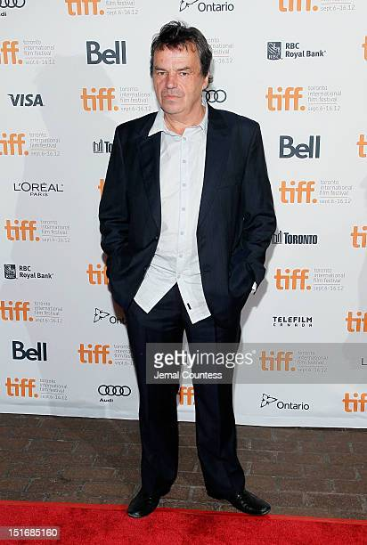 Director Neil Jordan attends the Byzantium premiere during the 2012 Toronto International Film Festival at Ryerson Theatre on September 9 2012 in...