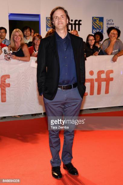 Director Nicholas de Pencier attends the 'Long Time Running' premiere during the 2017 Toronto International Film Festival at Roy Thomson Hall on...
