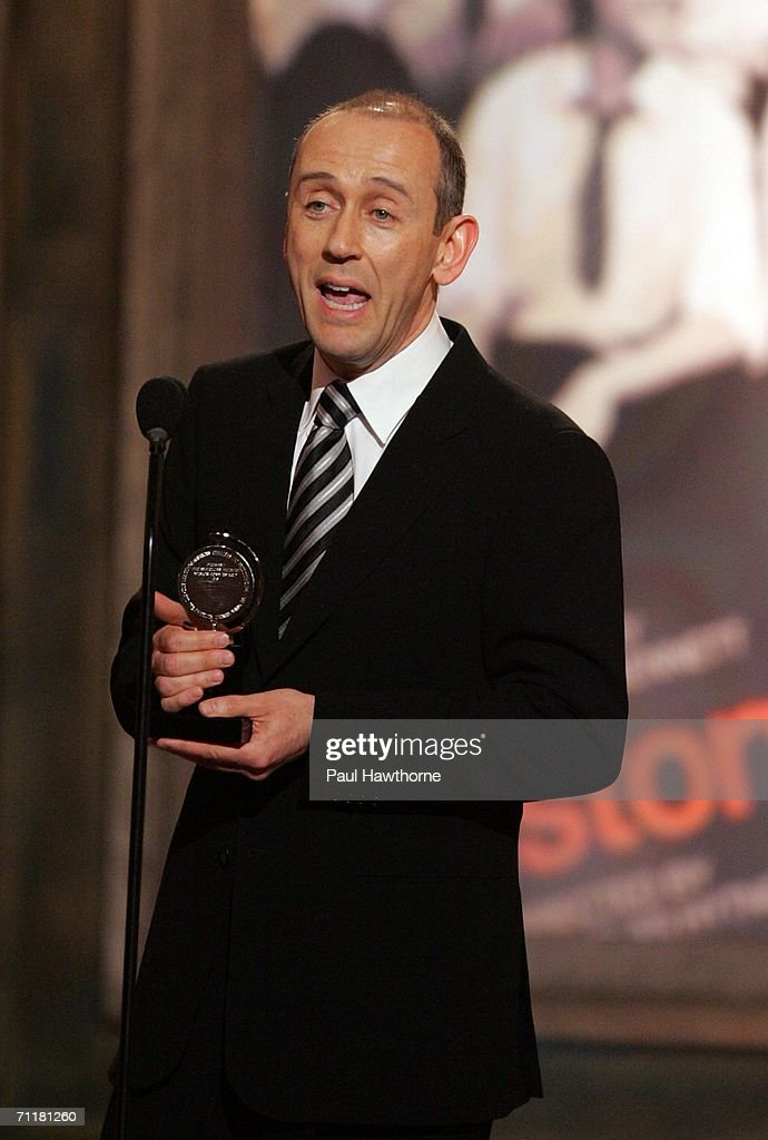 Director Nicholas Hytner accepts the award for 'Best Direction of a Play' onstage at the 60th Annual Tony Awards at Radio City Music Hall June 11, 2006 in New York City.