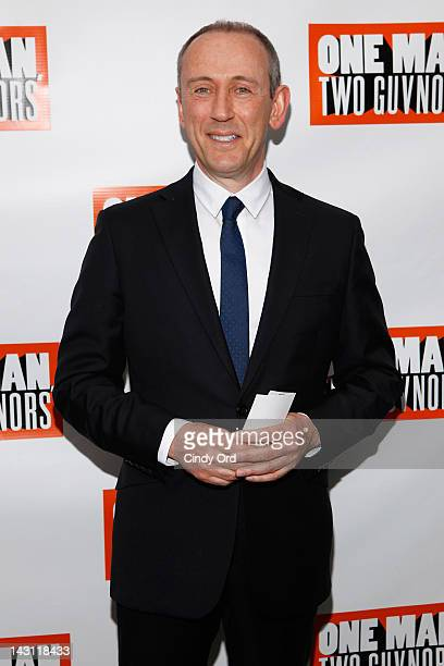 Director Nicholas Hytner attends the 'One Man Two Guvnors' Broadway opening night at the Music Box Theatre on April 18 2012 in New York City