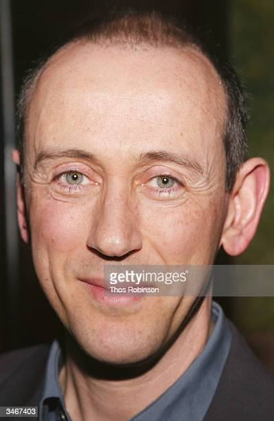 Director Nicholas Hytner attends the Opening of 'Jumpers' After Party at Tavern On The Green on April 25 2004 in New York City