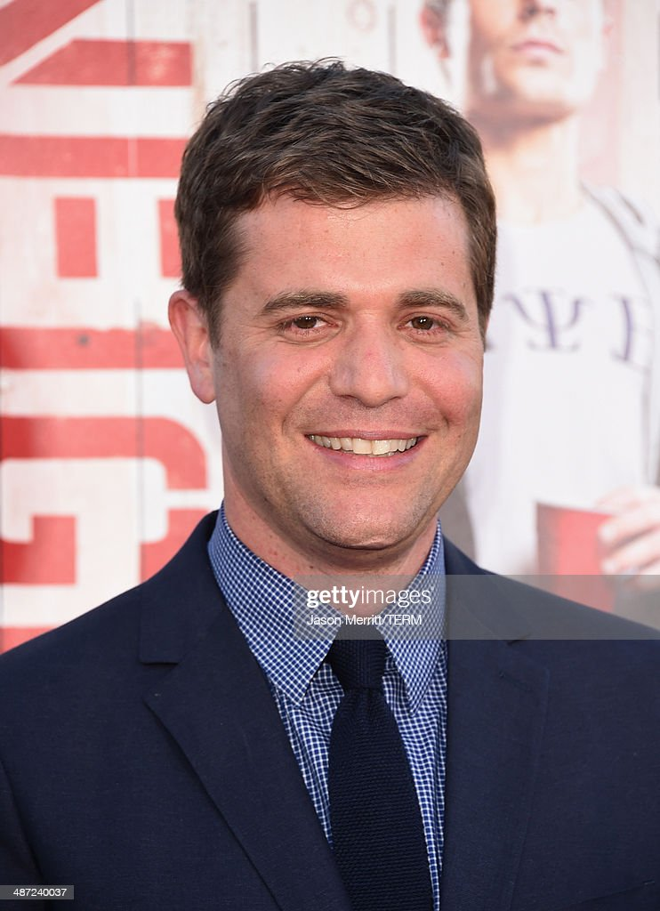 Director Nicholas Stoller attends Universal Pictures' 'Neighbors' premiere at Regency Village Theatre on April 28, 2014 in Westwood, California.