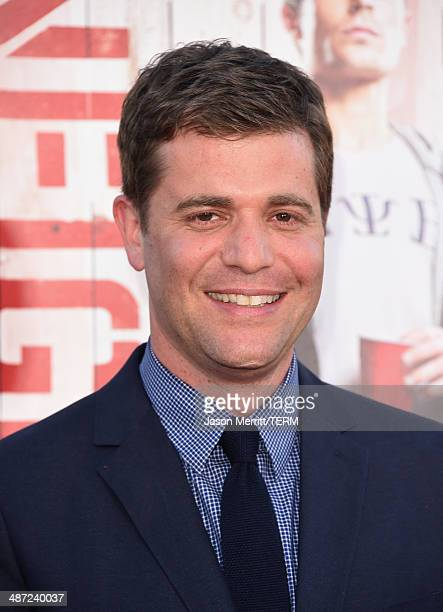 """Director Nicholas Stoller attends Universal Pictures' """"Neighbors"""" premiere at Regency Village Theatre on April 28, 2014 in Westwood, California."""