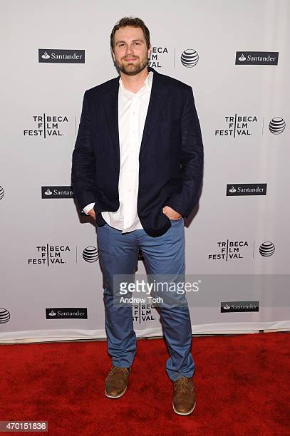 """Director Nick Berardini attends the premiere of """"Tom Swift And His Electric Rifle"""" during the 2015 Tribeca Film Festival at the SVA Theater on April..."""