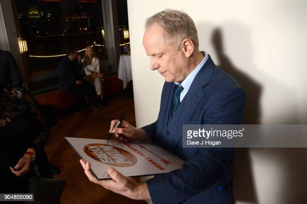 Director Nick Park attends the 'Early Man' World Premiere after party held at Skylon on January 14 2018 in London England
