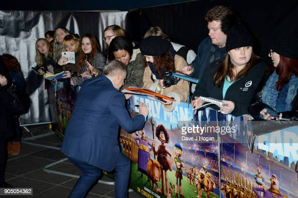 Director Nick Park attends the 'Early Man' World Premiere held at BFI IMAX on January 14 2018 in London England