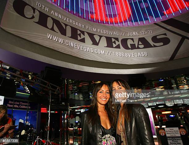 Director Nicola Collins and producer Teena Collins arrive at The End screening during the 2008 CineVegas film festival held at the Palms Casino...