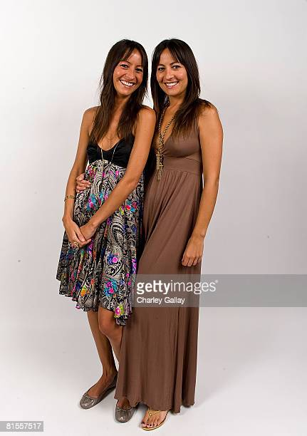 Director Nicola Collins and producer Teena Collins from the film The End pose for a portrait during the 2008 CineVegas film festival at the Palms...