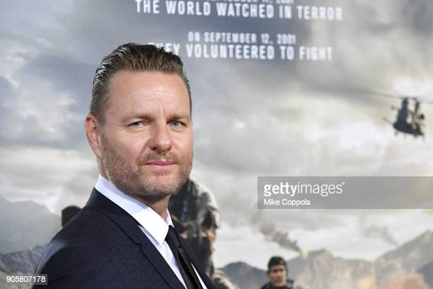 Director Nicolai Fugisig attends the '12 Strong' World Premiere at Jazz at Lincoln Center on January 16 2018 in New York City