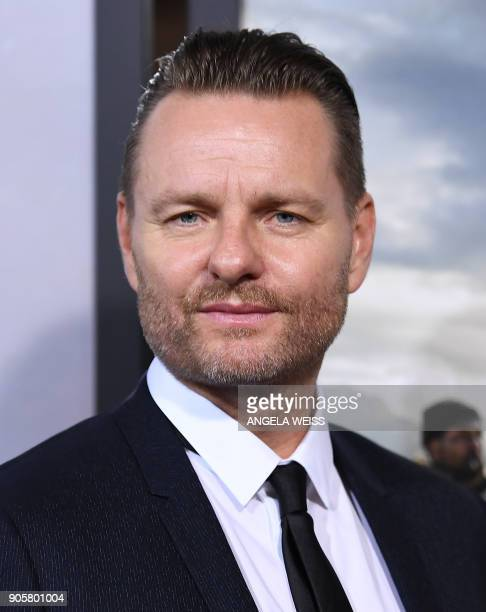 Director Nicolai Fuglsig attends the world premiere of '12 Strong' at Jazz at Lincoln Center on January 16 in New York City / AFP PHOTO / ANGELA WEISS