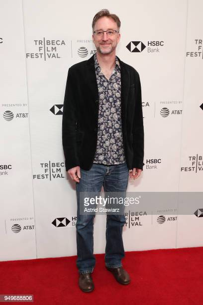 """Director Nicolas Brown attends the screening of """"The Serengeti Rules"""" during the 2018 Tribeca Film Festival at Cinepolis Chelsea on April 21, 2018 in..."""
