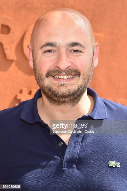 Director Nicolas Charlet attends the 2017 French Tennis Open Day Four at Roland Garros on May 31 2017 in Paris France